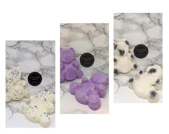 The 3 Little Bears Package- Soy Wax Melt Bear Melts