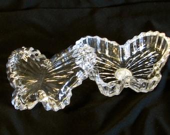 Crystal Butterfly Trinket Box, Jewelry Storage, Gift for Her, Mothers Day Gift, Crystal Butterfly Presentation Box