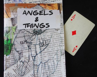 "Art Zine: ""angels & things"""