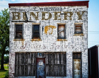Oklahoma City - Building - Old - Architecture - Downtown - Duncan Bindery Building Front