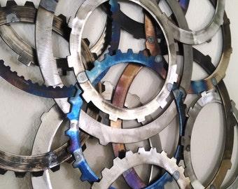 Colored Circles Wall Hanging