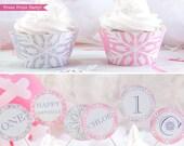 Winter ONEderland Cupcake...