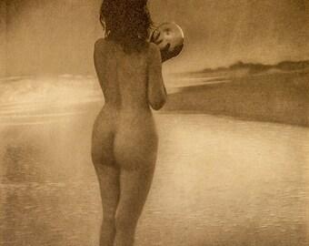 """Alice Boughton Photo,  """"Dawn"""" 1909"""
