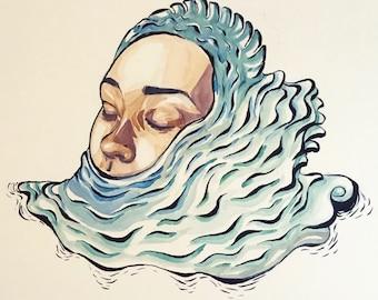 Original Illustration By Jon V. Marzullo