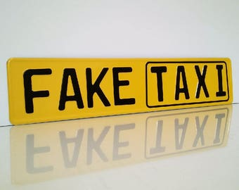 Birthday sign, flag, sign, gift, embossing of your choice indicator of Brazzers red tube fake taxi