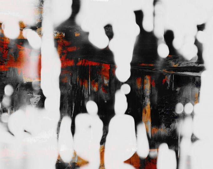 SAIGON BLUR XL - Mixed Media Art by Sven Pfrommer - Artwork is ready to hang