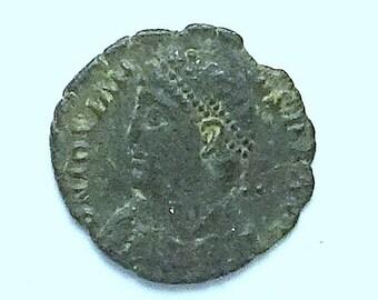 Jovian; Ancient Roman Bronze Coin; Heraclea Mint