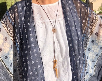 Woof Wool Bolo with Enchodus Fossil