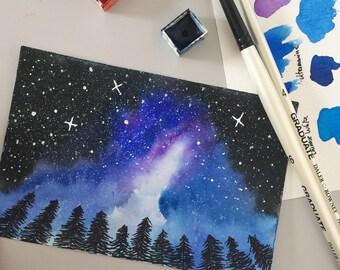 The night sky - ORIGINAL
