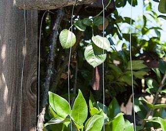 Manzanita Branch and Silverware Tropical Fish Wind Chime - TFWC010