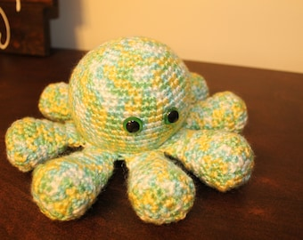 Crochet | Octopus | Stuffed Tentacles