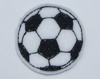 Felt Soccer ball Applique Embroidery mini designs