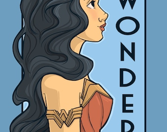Wonder- She Series Medium Print (Item 03-418-BB)