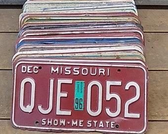 Set of 50 License Plates Lot Vintage Automobile Car Truck Tags iq,  Vintage License Plates, Vintage Car Tags, Truck Tags, License Plate Art