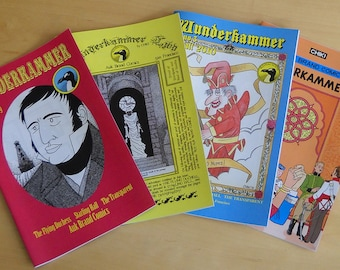 First four issues of Wunderkammer