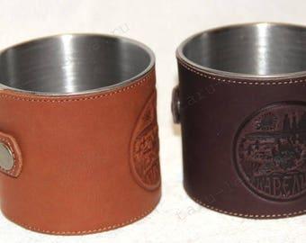 Mug marching large dark brown
