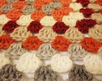 Granny Squares Bedspread