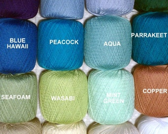Thread colors available