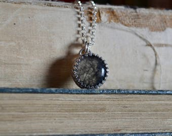 Black Rutile Quartz Necklace