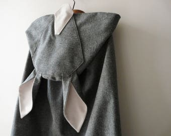 From riffifi at fairies: donkey skin! Cape for girls 2 to 77 years old!