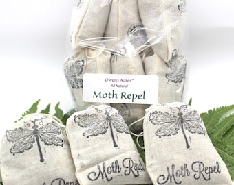 Moth Repelling, Herbal Moth Bags - Natural Insect Product, Insect Repelling, Repellent, Bugs, Moths, Closets, Kitchen M