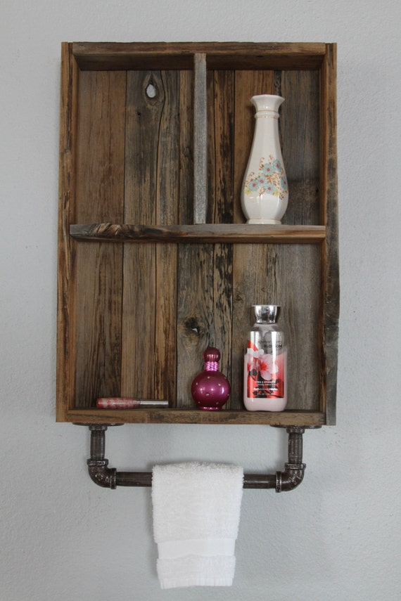 Reclaimed Wood Shelves Medicine Cabinet Wood Shelves
