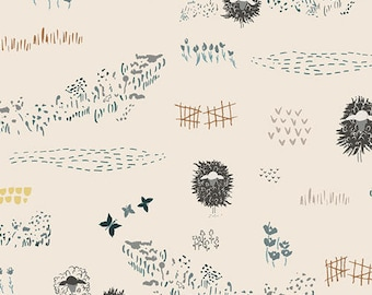 Lambscape Yonder - LAMBKIN by Bonnie Christine for Art Gallery Fabrics  - LMB 28732