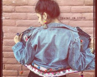 Free shipping - Jacket / Boho Chic / Gypsy  / Kuchi / tribal and Gipsy