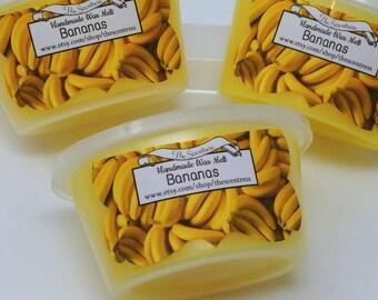 Bananas Wax Melt - Banana  Candle Melt - Banana Wax Shot - Candle Melt Cup - Tart Melt - Scent Shot