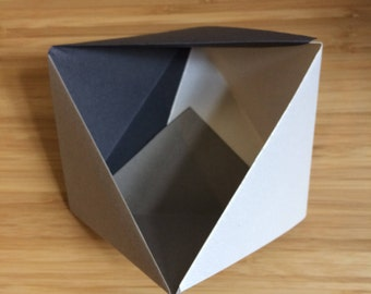 Paper Bowl || Grey Small