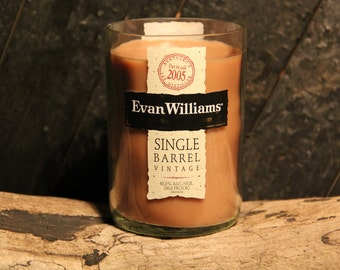 Evan Williams Whiskey Candle, Father's Day Gift, Gift For Dad, Gift For Brother