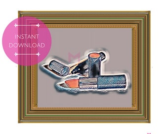 PRINTABLE POSTER: My MaryKay, Instant Download