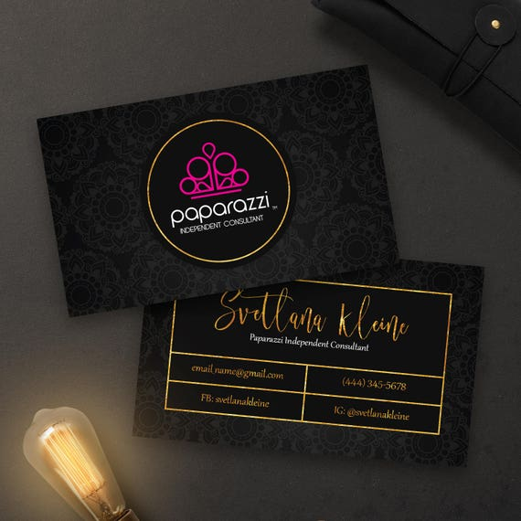 Paparazzi business cards free personalized paparazzi jewelry colourmoves Image collections