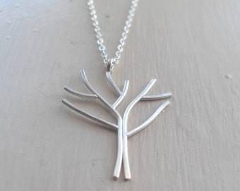 Arbor - Sterling Silver Tree Necklace
