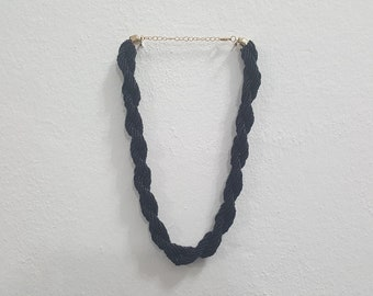 Black Necklace for women fashion jewelry Black chain necklace