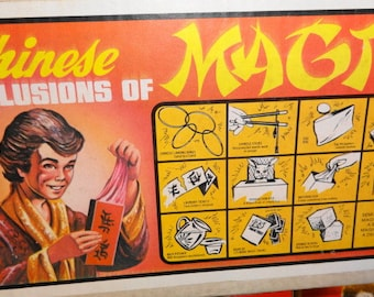 1960s Chinese Illusions of Magic Set by S.S. Adams RARE Complete