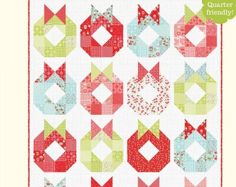 QUILTING FUN (Quilt Pattern) - Deck The Halls - Designed by Bonnie Olaveson