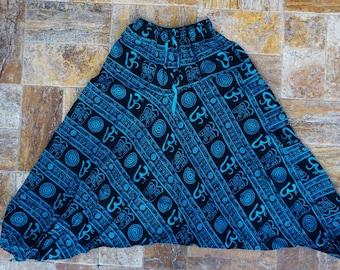 Om Sanskrit Hippie Bohemian Yoga Pants