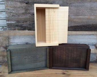 DIY Wooden Storage Box Size Small