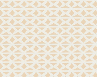 Art Gallery Fabric- Bound- Wallpaper in Flesh - April Rhodes