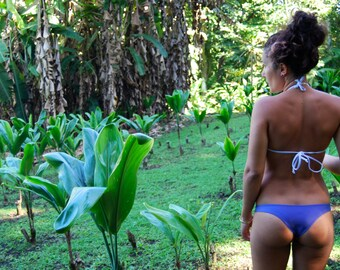 More Colors! 'Kawaihae' Brazilian Bikini Bottoms Cheeky Swimwear Handmade in Hawaii