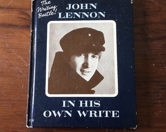 In His Own Write by John Lennon, 1964 5th printing, Beatles book
