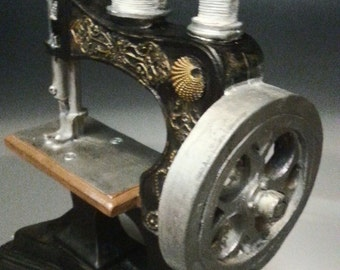Mini Antique Sewing Machine Replica #3