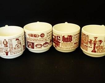 Vintage Sears Roebuck's Company 1906 Catalog Coffee Cups