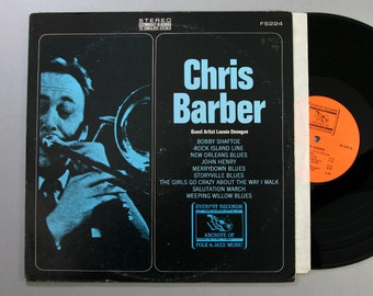 Chris Barber With Guest Artist Lonnie Donegan - The Best Of Chris Barber - Vinyl LP Record Album 1968