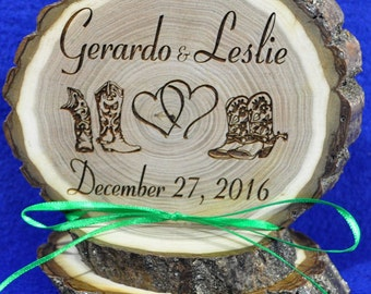 Cake Topper ~ Western Cake Top ~ Rustic Wedding ~ Barn Wedding ~ Rustic Cake Top ~ Cowboy Wedding ~ Custom Cake Top ~ Cowboy Boots ~ Wedding