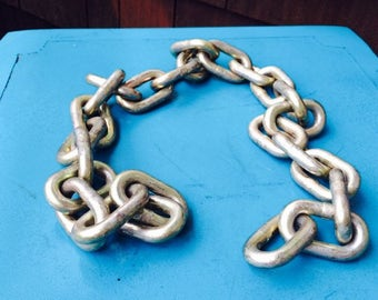 Industrial Chain Decor, Metal Chain Strip, Hanging Chain, DIY Project