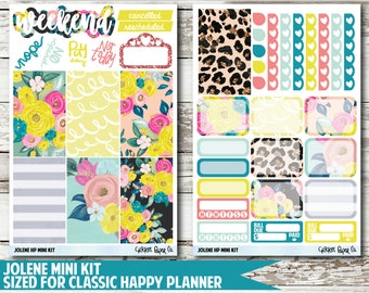 Jolene CLASSIC HAPPY PLANNER Stickers