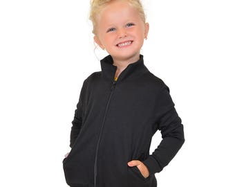 Stretch Is Comfort Girl's Performance Cadet Warm Up Jacket