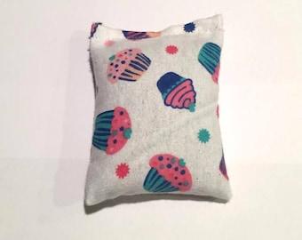 CatNip Pillow Toy Yummy Cupcake Design 100% Cat Nip No Fillers